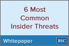 6 Most Common Insider Threats